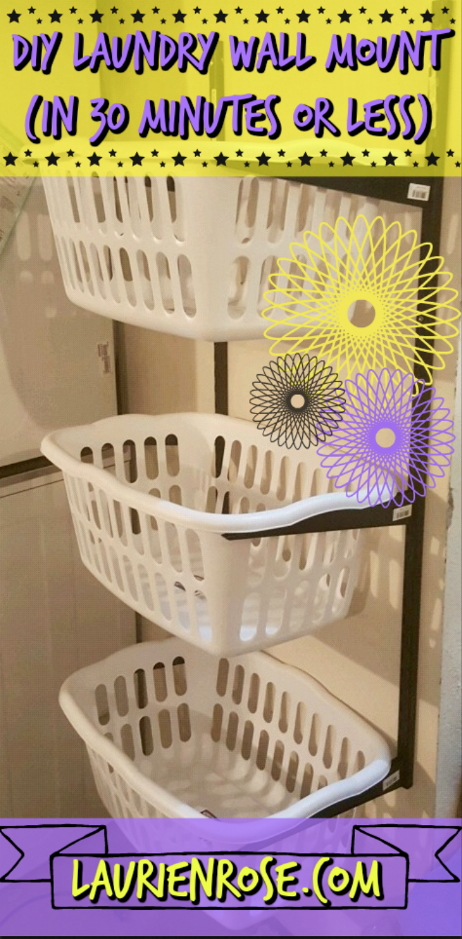 Check Out This Diy Tutorial To Make Your Own Hanging Laundry