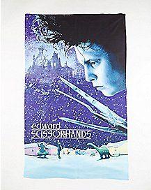 Edward Scissorhands Fleece Blanket