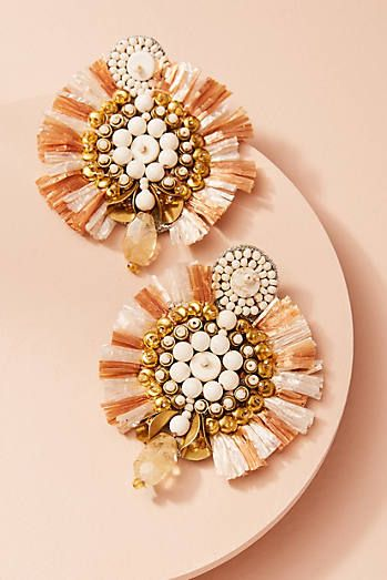 651d79b0f Zoya Fan Drop Earrings | tassels | Pinterest | Earrings, Jewelry and ...
