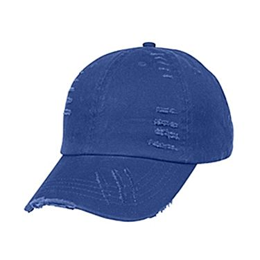 ce037c1c68b6df Wholesale Hats - Wholesale Unstructured Distressed Chino Washed Cotton  6-Panel Hats