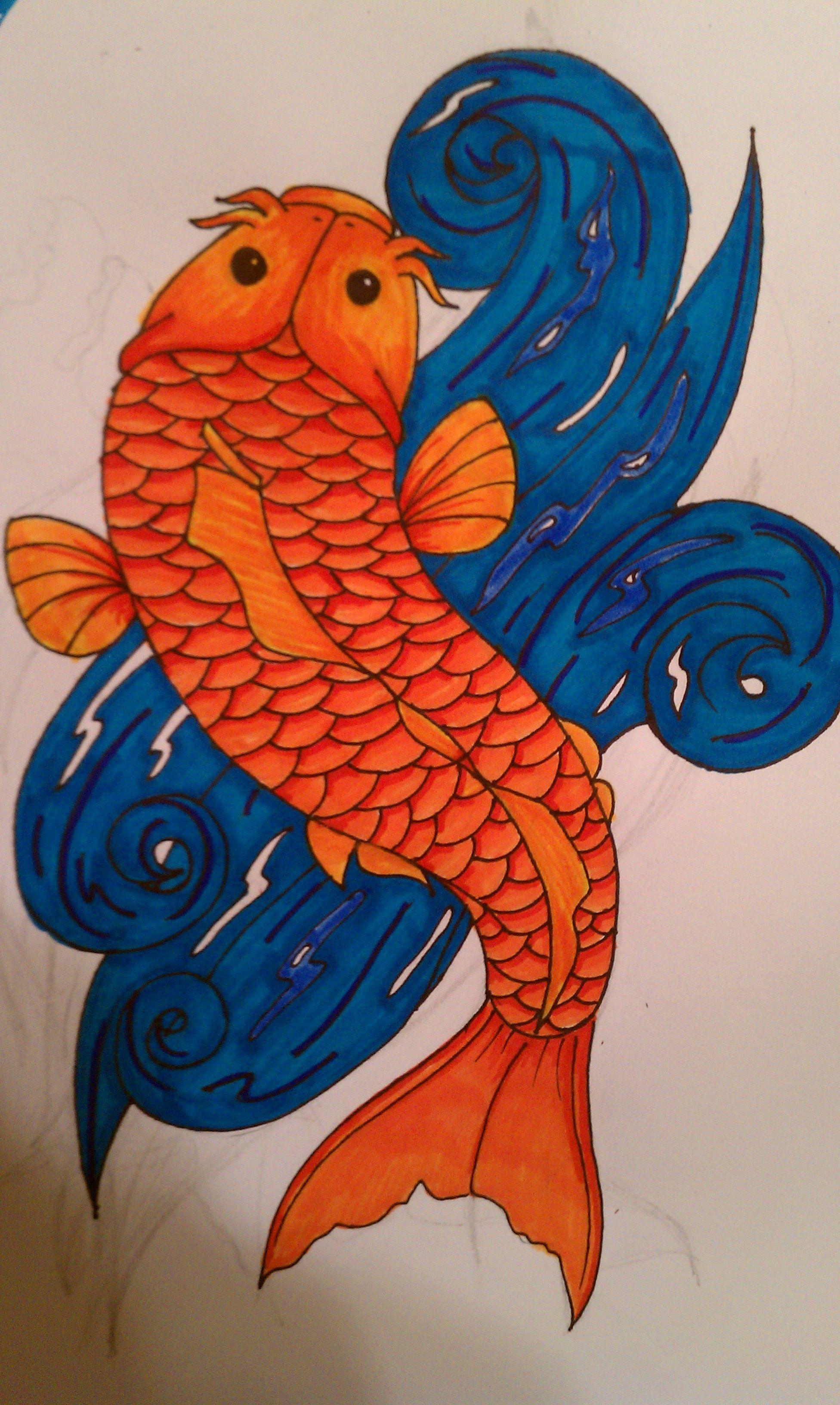 Pin by Adonna Disbrow on My Tattoos | Pinterest | Koi