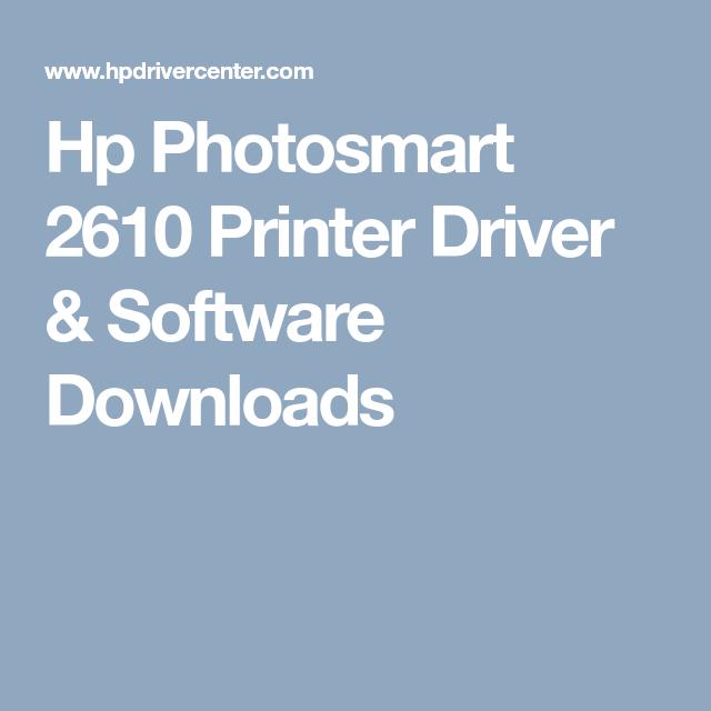 hp 2610 driver