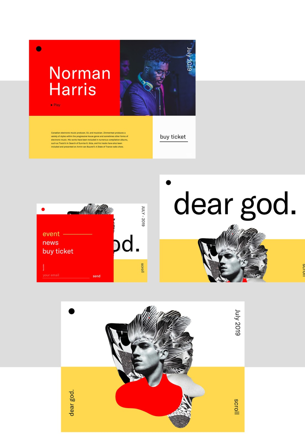 That 90s Look Is Coming Back Dear God Brand Identity Online Web Design Brand Identity Web Development Design