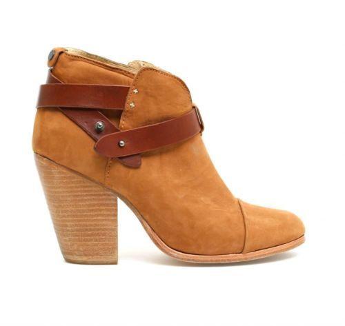 Chanel Beige Beige/Black Leather Cap Toe Platform Ankle
