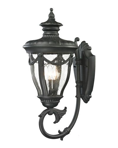 H8CVT Anise Large 3-Light Outdoor Wall Sconce