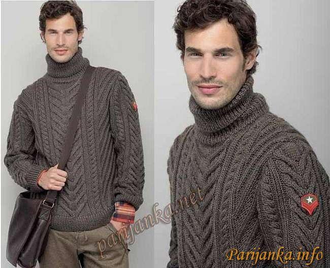 Пуловер (м) 16*60 PHIL №2160 | Dos agujas:busos,sacos,chalecos y ...