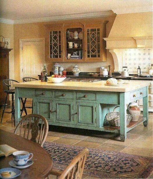Country style kitchen Ideas Pinterest Kitchens, Farmhouse