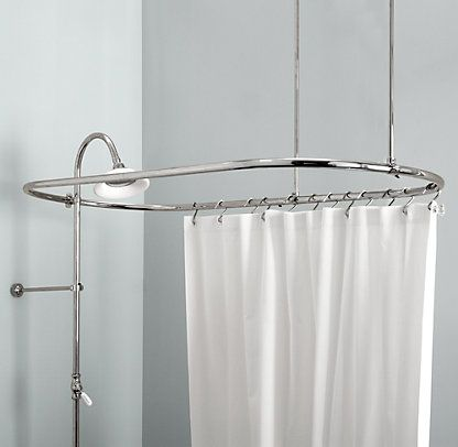 Vintage Restoration Hardware Shower Curtain Rods Modern Shower Curtains Shower Rod