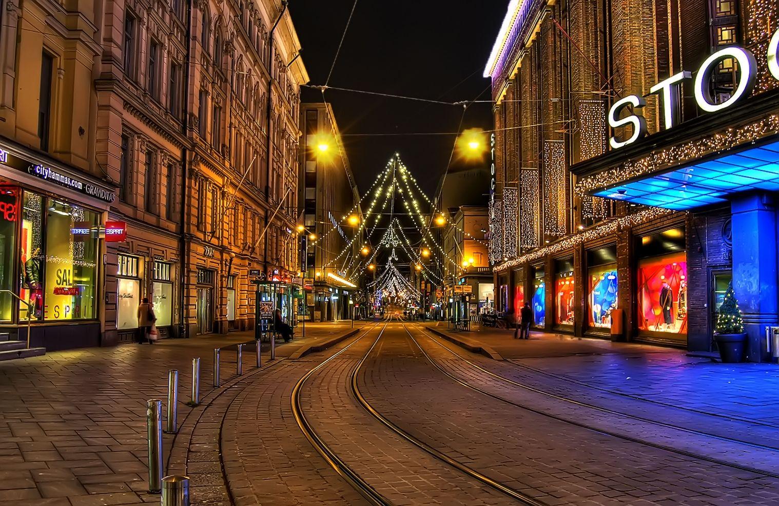Helsinki Stockmann Aleksanterinkatu Helsinki Hdr Photos Favorite Places