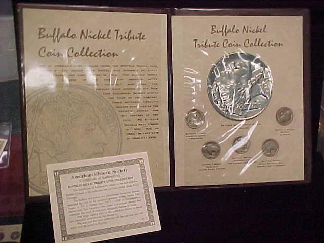 Buffalo Nickel Tribute Collection In Folder W Coa American