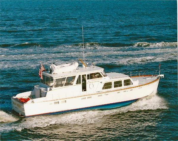 Used 1966 Huckins Linwood 56, West Palm Beach, Fl - 33401 - BoatTrader.com