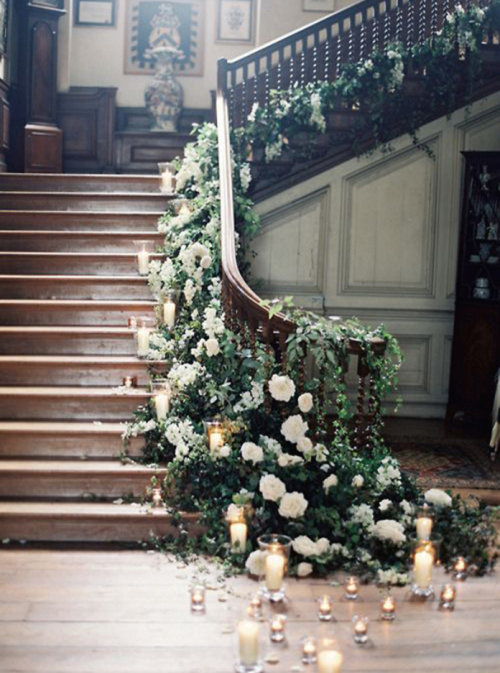 Mad About Design- Decor: Bohemian Romantic staircase