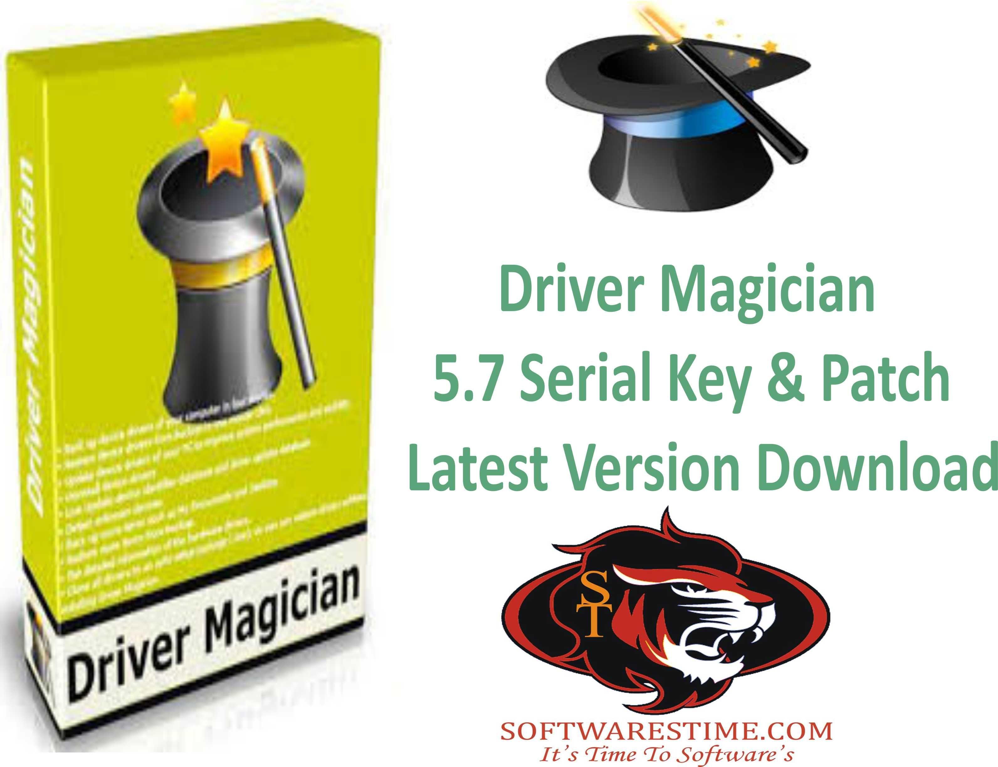 download driver magician + serial key