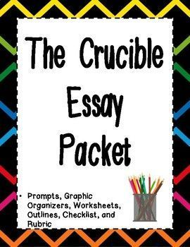 the crucible essay packet essay prompts prompts and common cores huge crucible essay packet this packet includes six original comparative essay prompts that allow