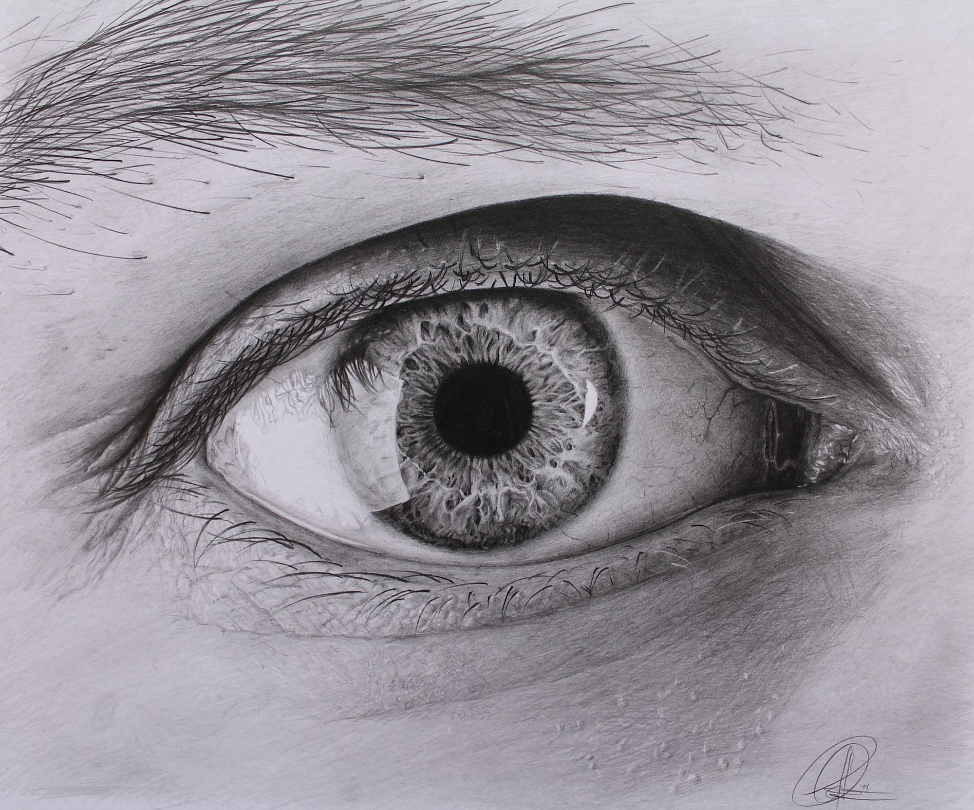 drawings of eyes - HD2000×1664