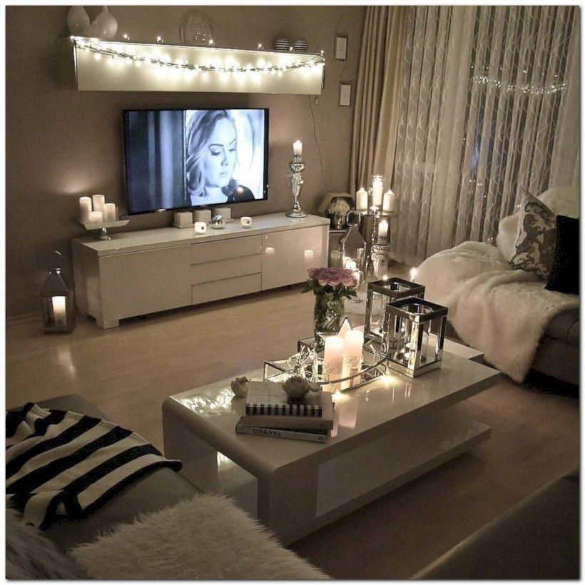 Small Living Room Tv Placement Amazing Studio Apartment Decorating Ideas 54 Small Apartment Living Room Living Room Decor Apartment Apartment Living Room