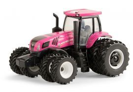 164 Pink New Holland Genesis T8410 Tractor W Duals Ertl Pink
