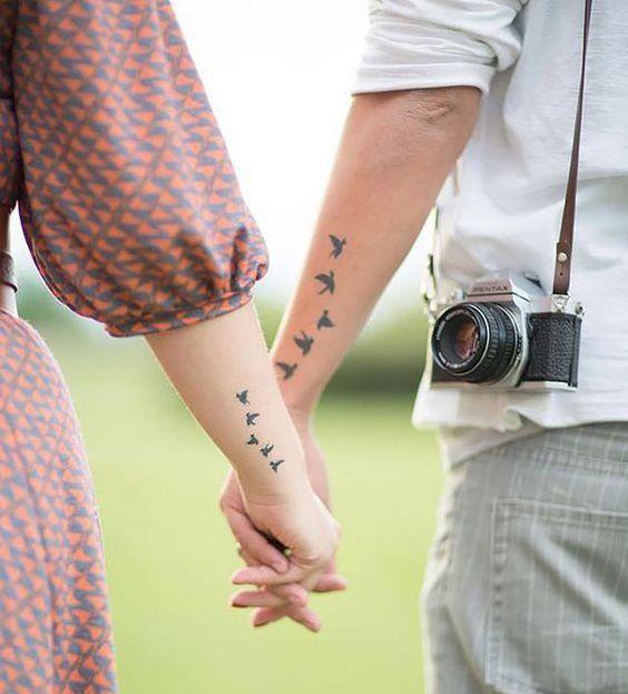 30 Tatuajes Para Parejas Perfectos Para Lucir Los Dos Mejores