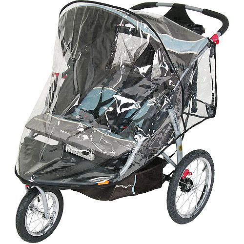Baby Trend Double Jogging Stroller Rainshield Cover