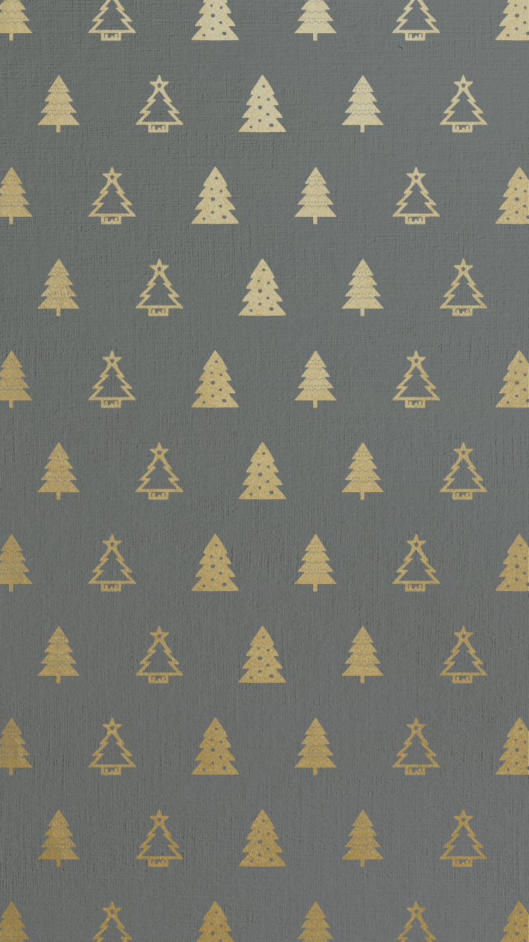 Christmas lights background tumblr christmas tree blur tablet phone - Gold Foil Christmas Tree Pattern Free Iphone 6 Backgrounds