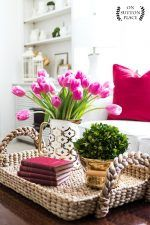 A list of my five favorite Valentine's Day decor ideas...easy, budget-friendly ways to decorate your home and celebrate with your family & friends.
