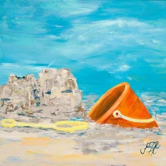Sandcastles I Poster Print by Julie DeRice - Item # VARPDX10190F - Posterazzi