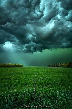 justcallmegrace:  Stormy Sky, Wisconsin