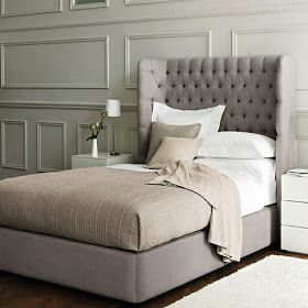 Inspired Living...: What We Love Now! Part 1- Beautiful Rooms in Grey