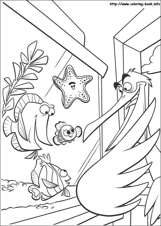 Finding Nemo coloring picture | desenhos colorir | Pinterest ...