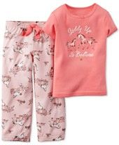 Carter's Baby Girls' 2-Piece Giddy Up Tee and Bottoms Set