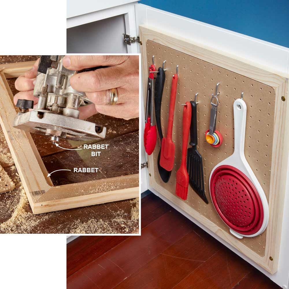 Pegboard Kitchen Storage: Organize Anything With Pegboard: 14 Ideas And Tips