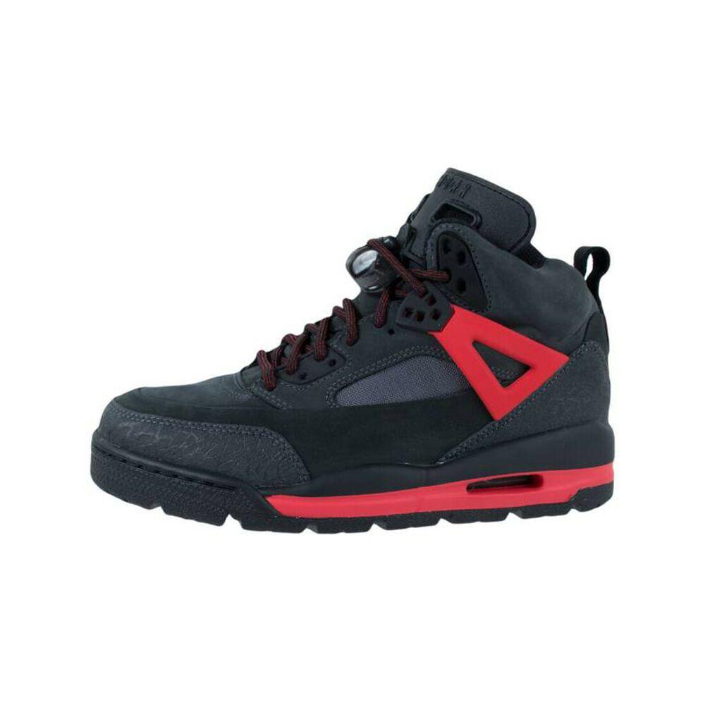f241cb67218dfe eBay  Sponsored JORDAN Big Kid Black Red Winterized Spizike Sneakers Sz  5.5Y  125