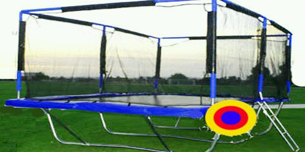 Details About Rectangle Trampoline 10x17 Ft With Safety