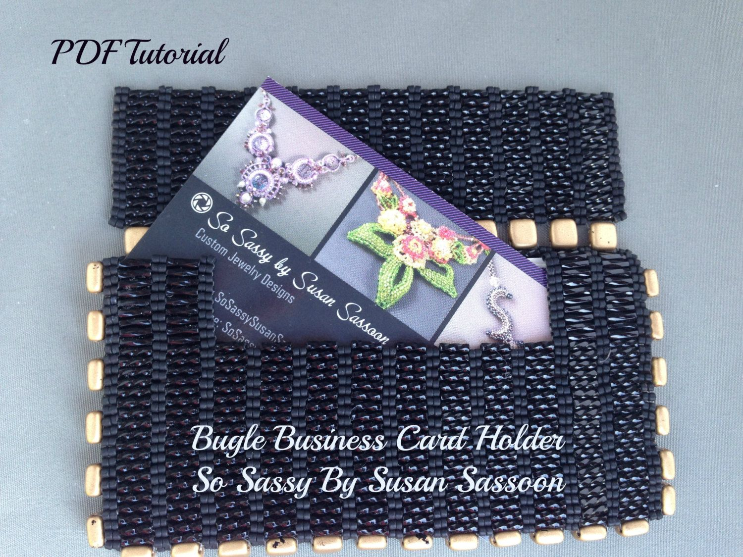 Bugle Business Card Holder Tutorial | Business card holders ...