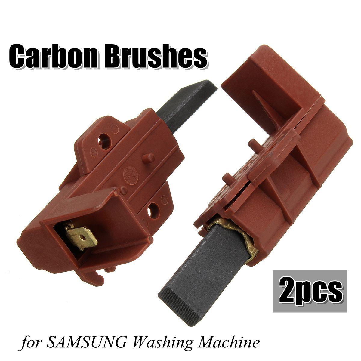 2pcs Washing Machine Motor Carbon Brush And Holder For Samsung Ariston Indesit Welling Stiralnaya Mashina Transportnoe Sredstvo Motocikl