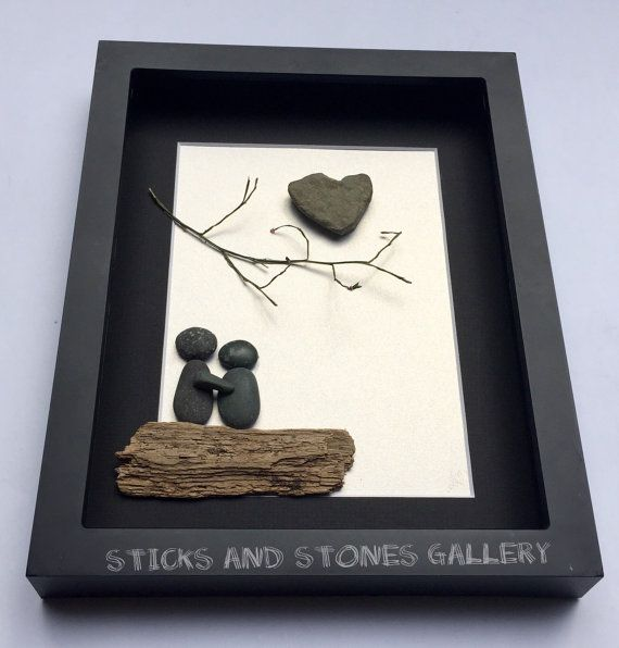 personalized gift for couple unique engagement by sticksnstone crafts pinterest christmas gifts gift and a4