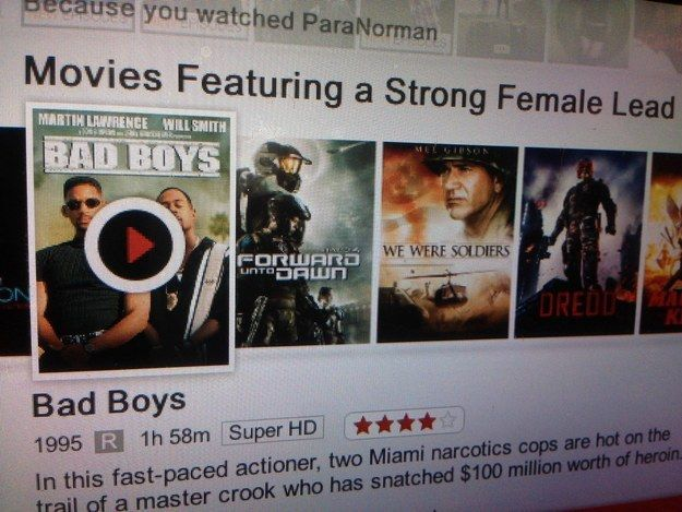 Netflix, that's just not funny.   21 Times That Netflix Must Have Been Drunk