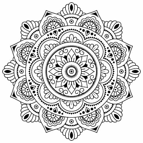 10 Common Yoga Symbols and Their Meanings #mandala