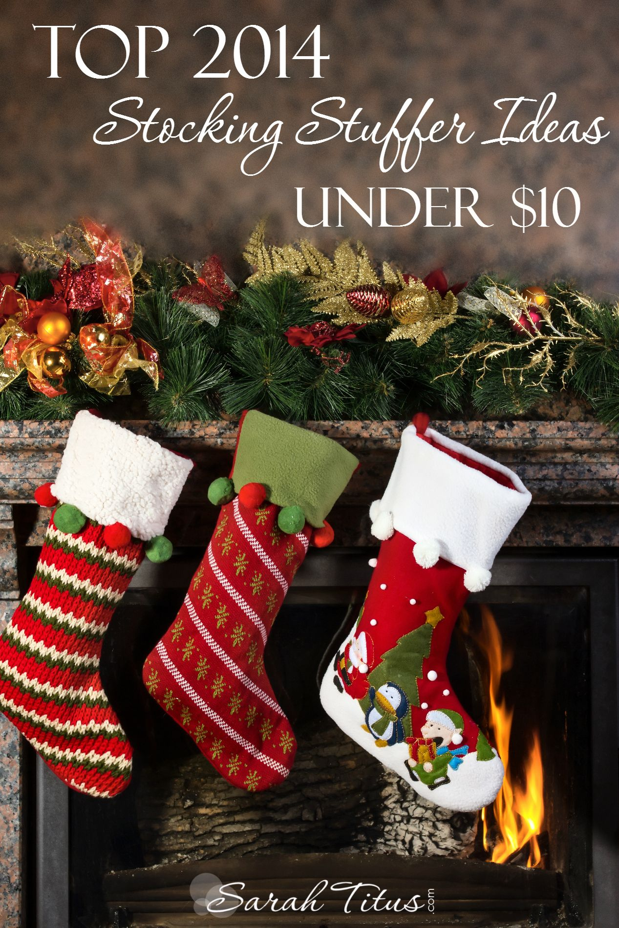 Top Stocking Stuffer Ideas Under $10 | Holidays | Pinterest