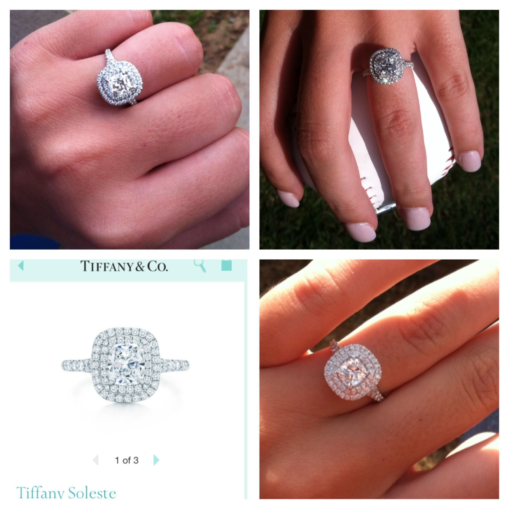 I WANT THIS RING! Tiffany engagement ring