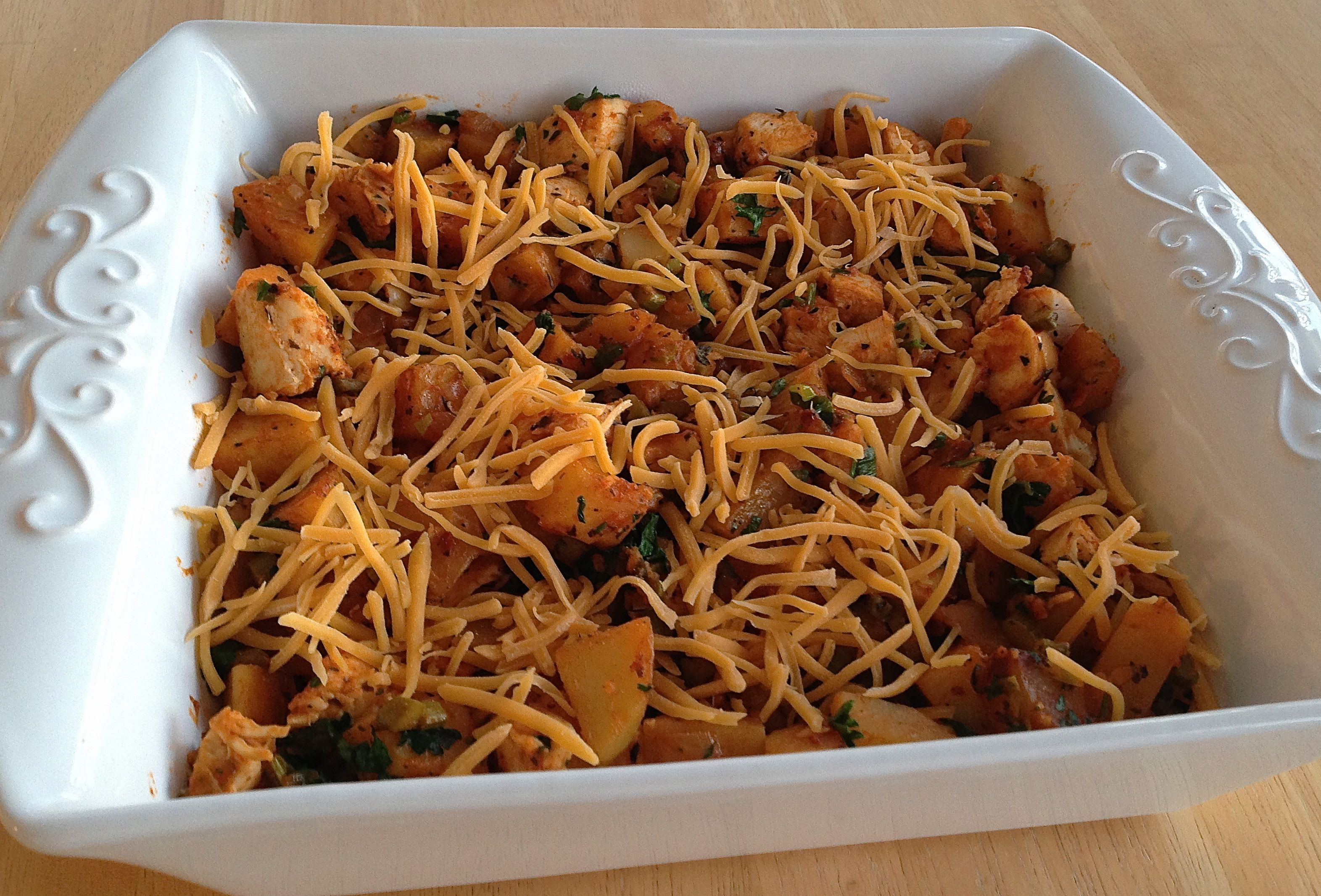 Low-Point Chicken Hash POINTS IN MY LIFE http://www.pointsinmylife.com/2014/01/low-point-chicken-hash.html