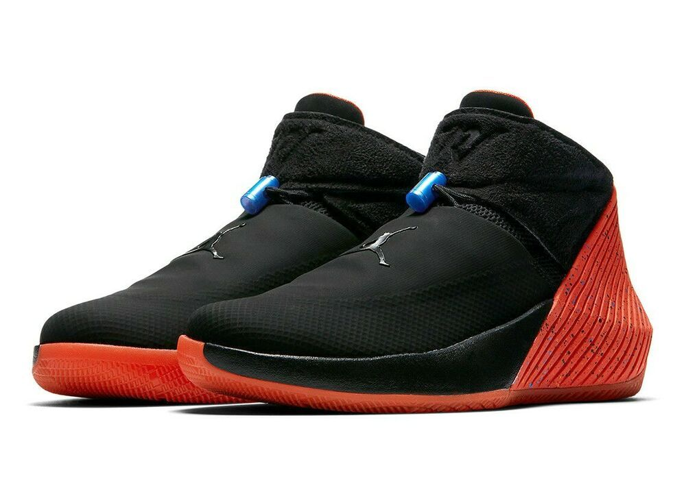 Jordan Why Not Zero 1 Mens Basketball Shoes Black Signal Blue