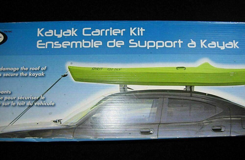 1 Kayak Carrier Kit Car Van Roof Top Mount Easy Rider