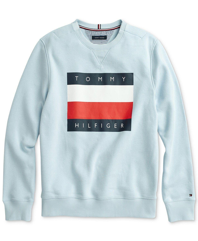 Tommy Hilfiger Men S Logo Graphic Sweatshirt With Velcro Closure At Shoulder Reviews Hoodies Sweatshirts M Sweatshirts Tommy Hilfiger Mens Sweatshirts [ 1500 x 1230 Pixel ]