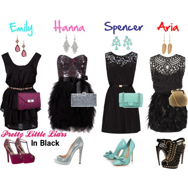 i can so imagine the girls wearing these outfits.