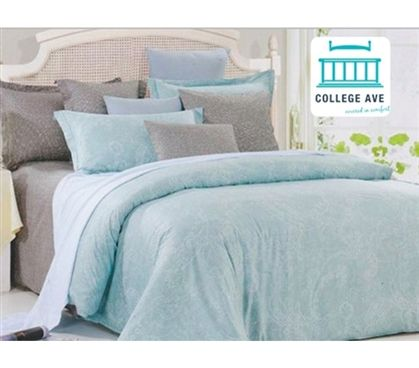 Leisure Twin Xl Comforter Set College Ave Designer Series Girls Dorm Bedding Juego De Cama Remodelacion De Dormitorio Cabeceros Tapizados