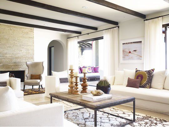 Explore Wood Beams, Living Spaces And More!