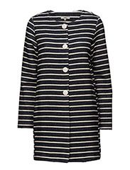 Rocket 1 Coat - MIDNIGHT BLUE STRIPE