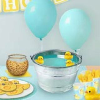 Duck Bath For Baby Shower Drink @Haley Sewell For Ken. Duck PunchBlue ...