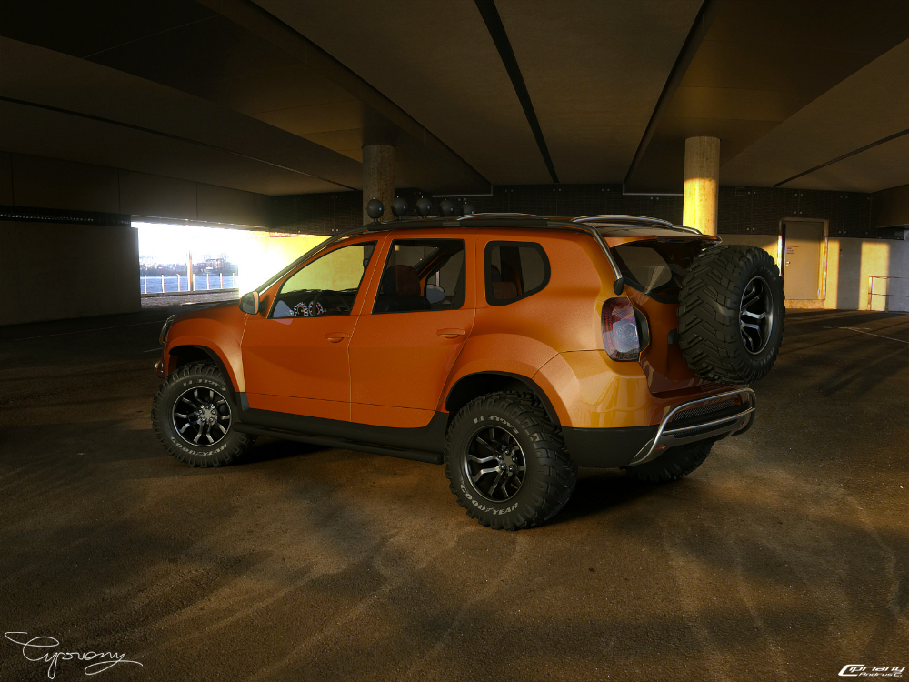 Dacia Duster Tuning 14 By Cipriany On Deviantart Renault Duster Dusters Dacia